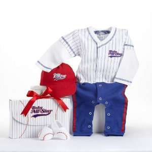 Baseball Baby Layette Set Baby