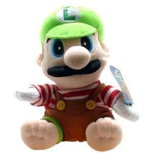 Super Mario Brothers Luigi Brown Costume 6 Plush Toys & Games