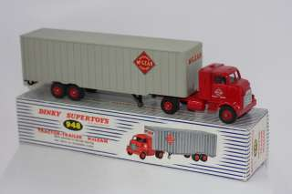 DINKY TOYS 948 TRACTOR TRAILER MCLEANS TRUCKING VNMIB