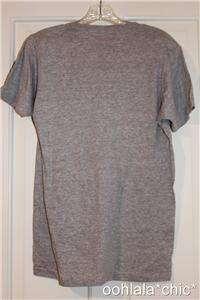 COCA COLA Coke British Flag Union Jack Gray Tee T Shirt