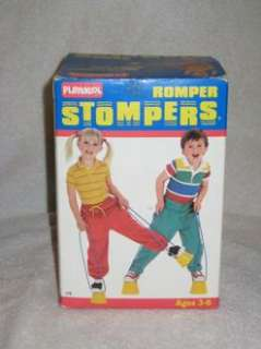Romper Stomper Playskool Hasbro classic vintage RARE 80s toy with