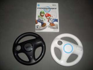 Super Mario Kart for Nintendo Wii 2 Steering Wheels