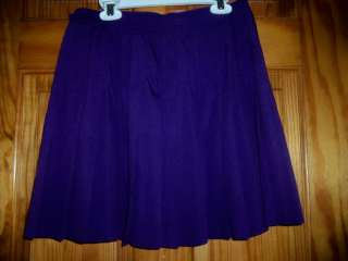 Ladies Prince Tennis Skirt Purple sz 12 tenis court