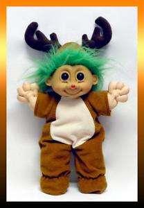 RUSS RUDOLPH RED NOSE REINDEER Troll Kidz 16 Doll