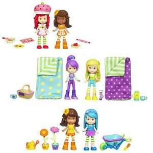 Strawberry Shortcake Story in a Box Figures Wave 3